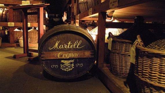 Коньяк Martell – «золотая ласточка» Франции