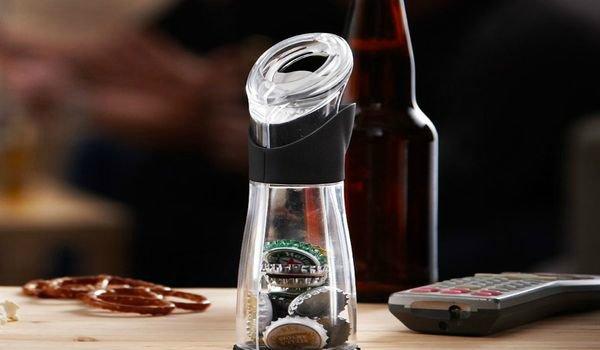 Открывашка для пива и хранения пробок