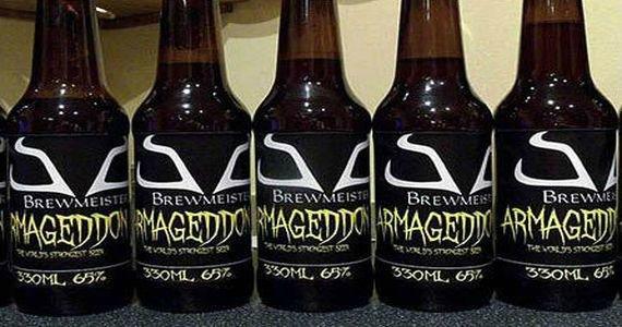 Армагеддон - самое крепкое пиво в мире