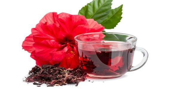 Чай каркаде - суданский красный цветок