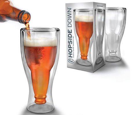 Необычный пивной бокал