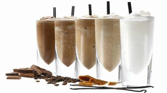 Коктейль фраппе - морозная сладость