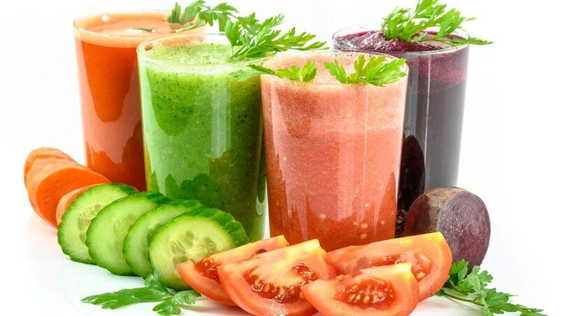 Овощные коктейли: витаминная кладезь